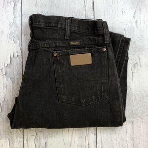 Vintage Wrangler Dark brown jeans 40x30